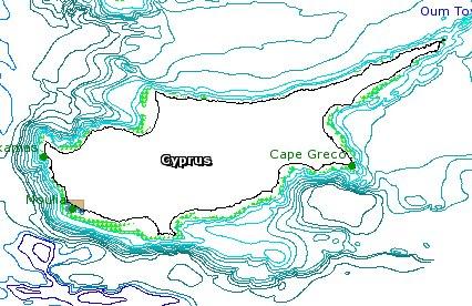 Cypress Map