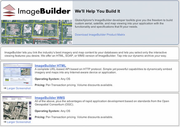 ImageBuilder Screenshot